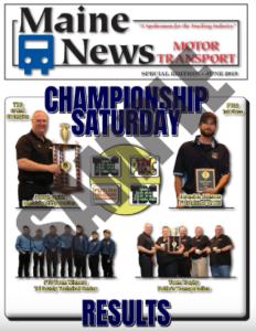 Example of Maine News Championship Saturday Mini-Mag